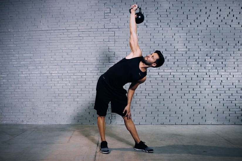 Kettlebell Side Press