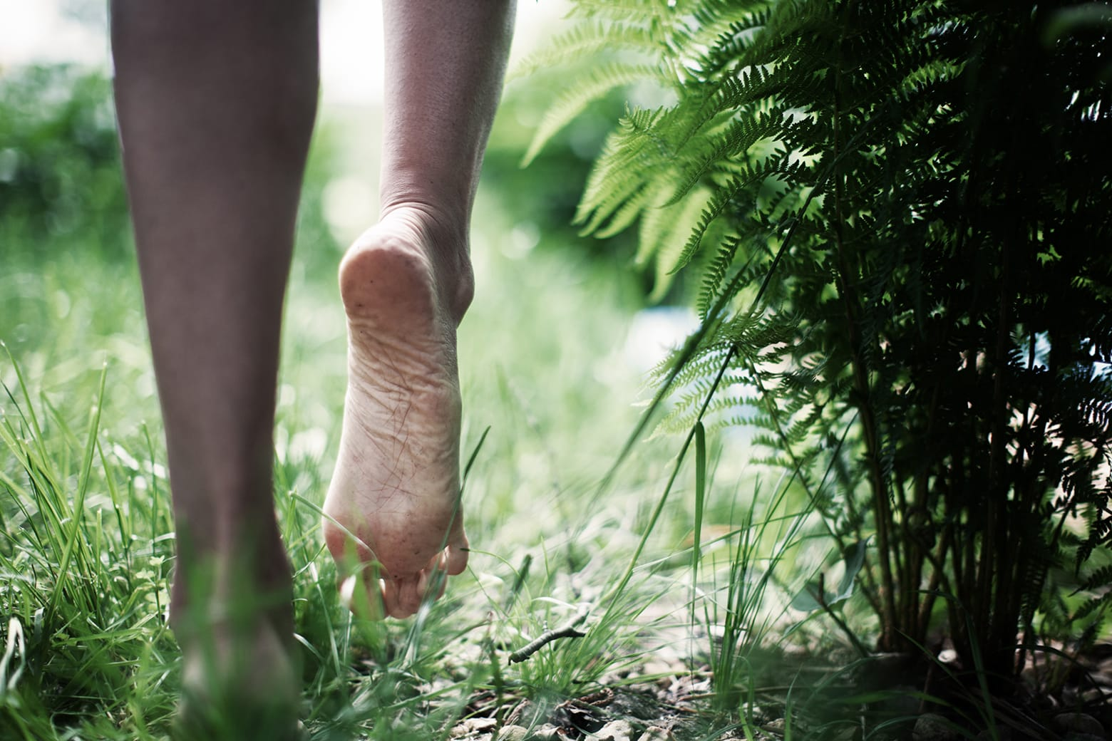 How important healthy feet and barefoot training are.