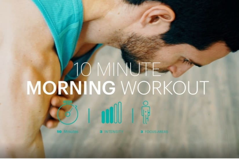Video: 10 Minute Morning Workout / 10-minütiges Morgen Workout