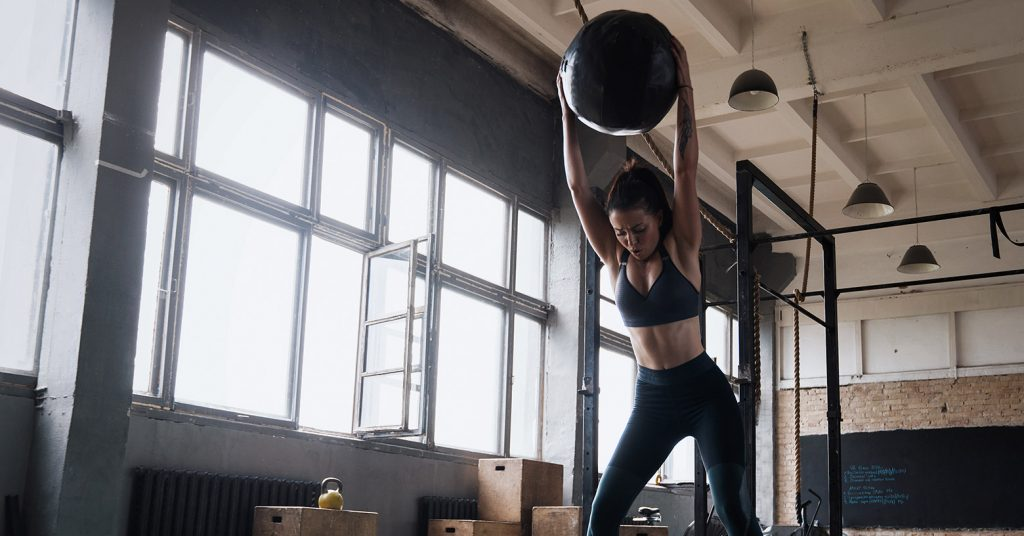 What is a slam ball? And why you should include it in your workout