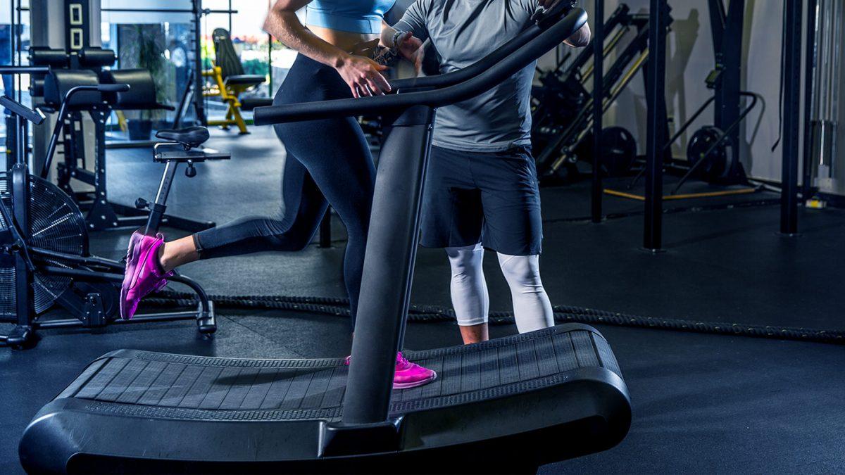 Gebogenes Laufband | Curved Treadmill