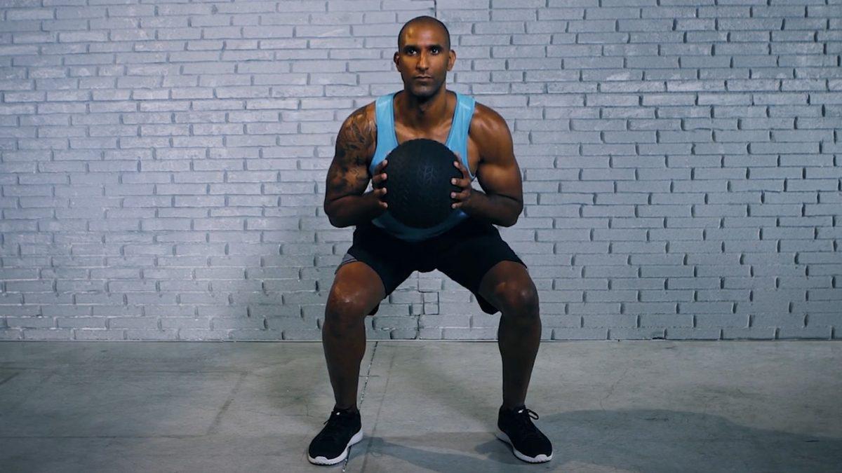 Tutorial: Med Ball Squat Jump