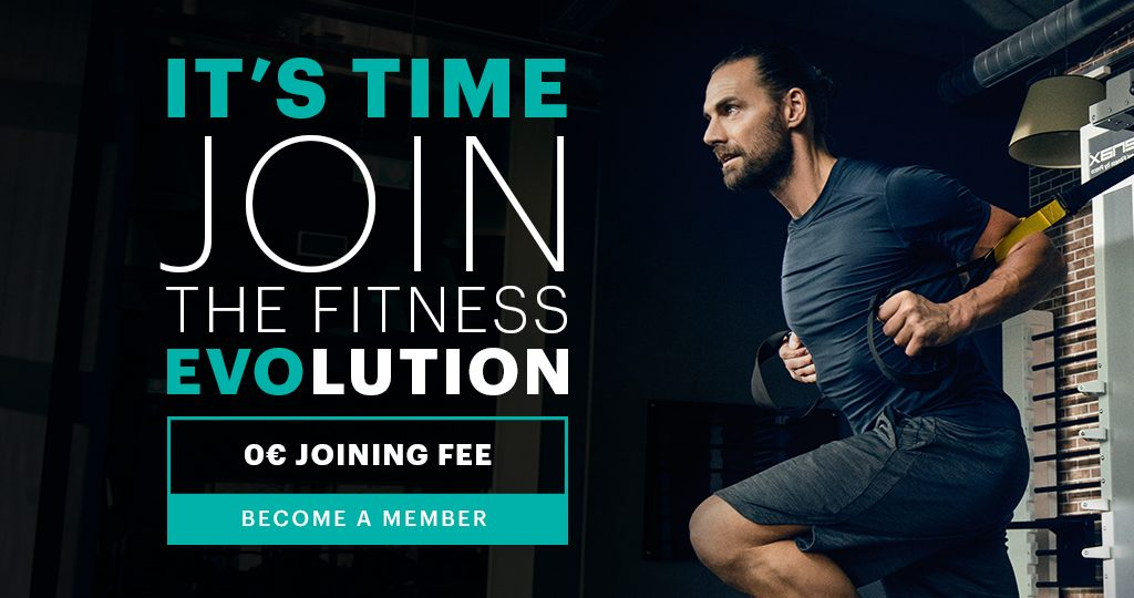 It's time. Join the fitness EVOlution.