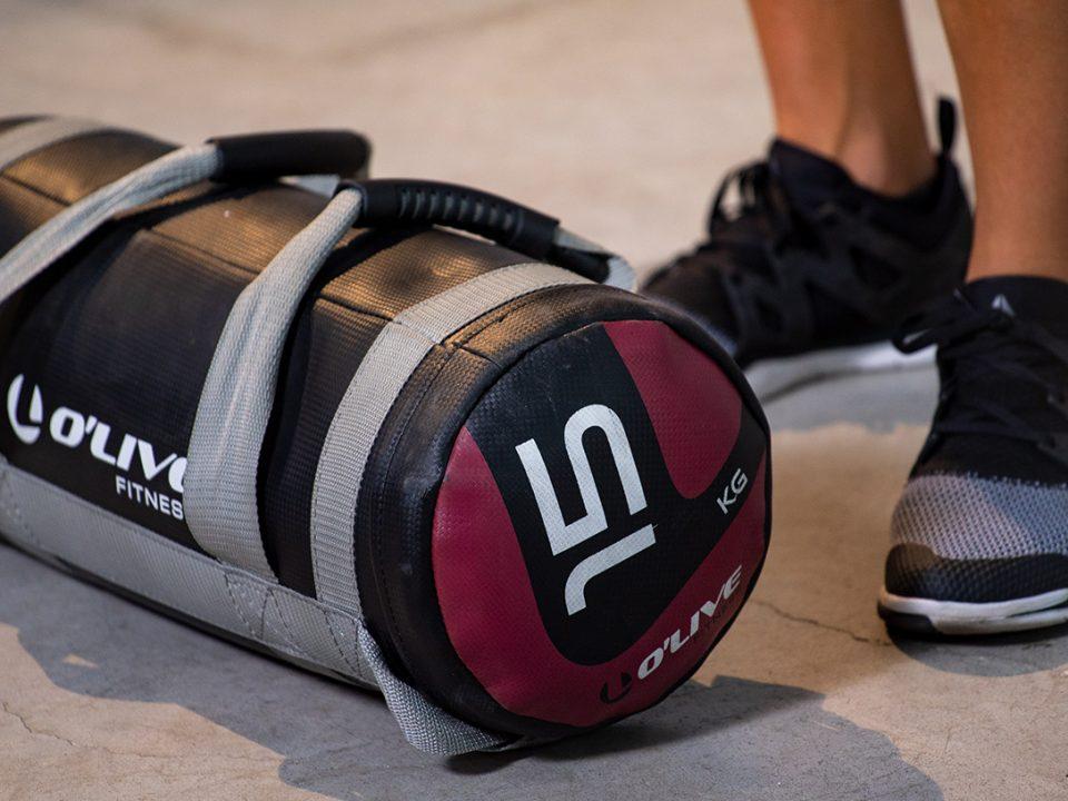 5 sandbag exercises
