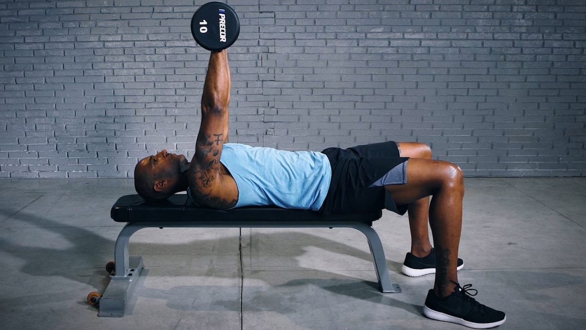 Tutorial: Dumbbell Chest Press