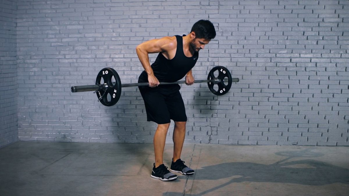 Tutorial: Barbell Deadlift Row
