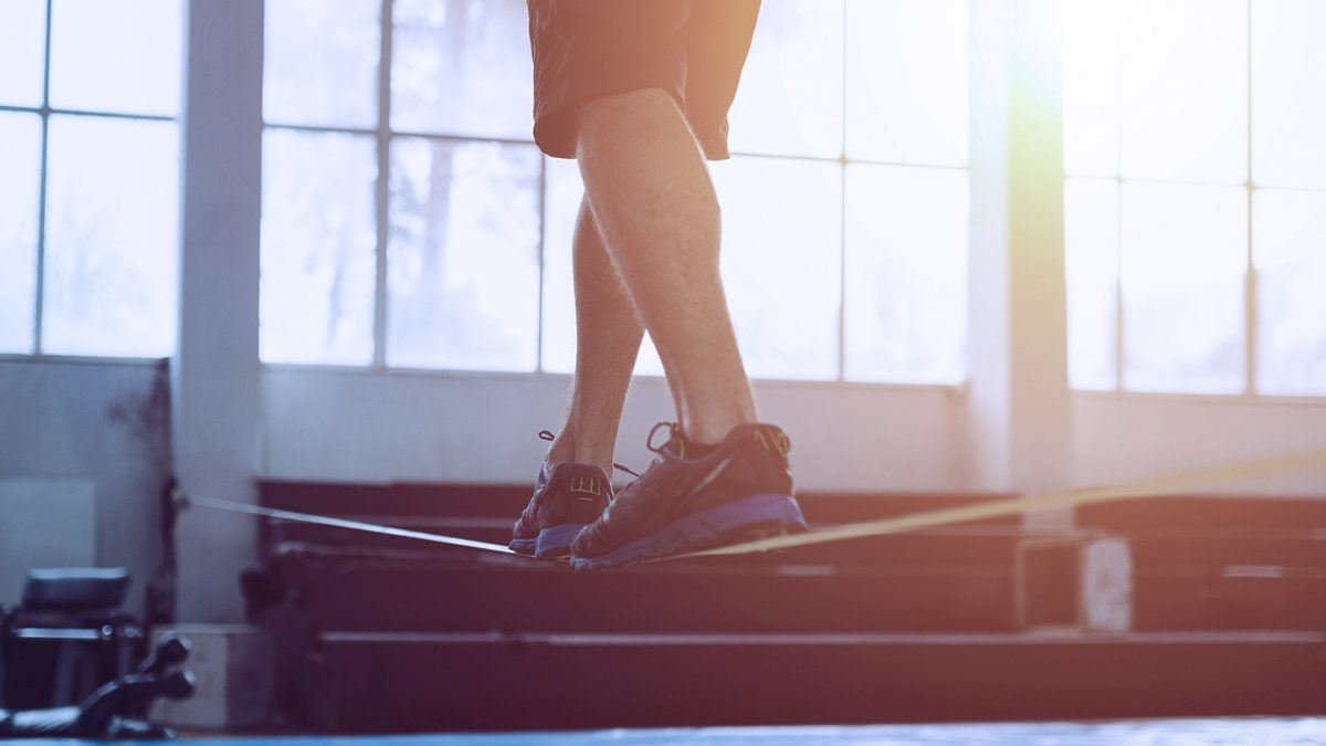 Slackline-Übungen | Slackline Exercises