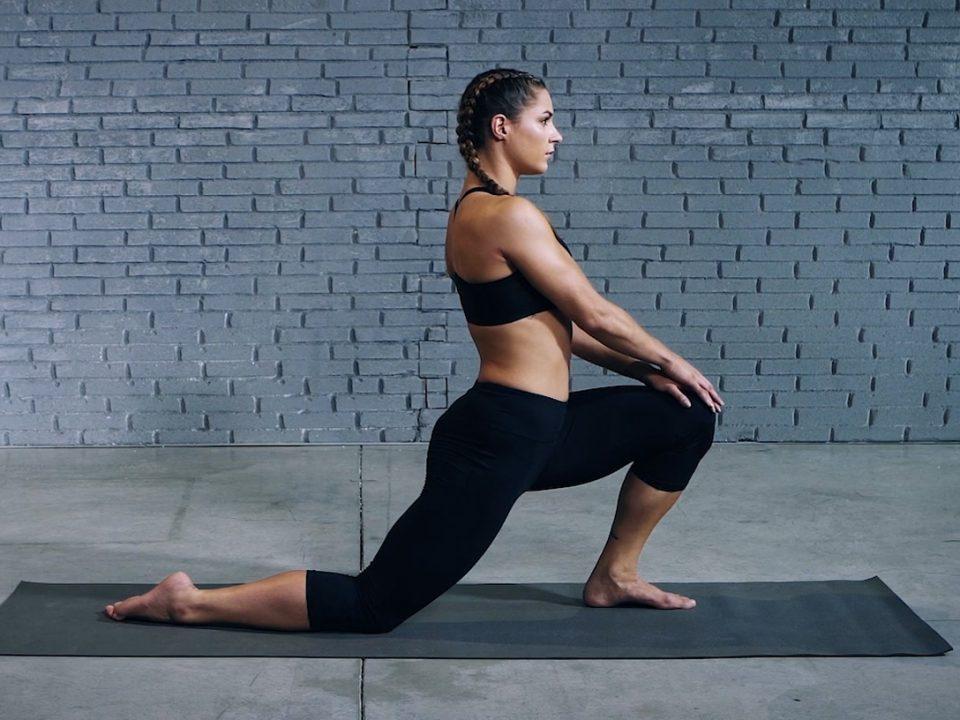 Tutorial: Kneeling hip flexor stretch