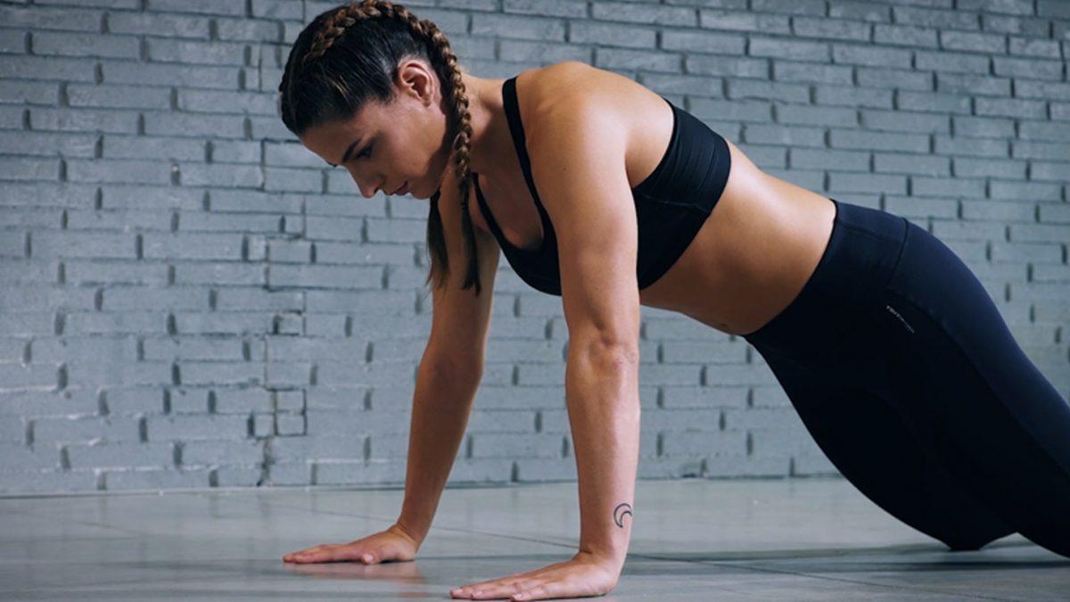 Tutorial: Liegestütze auf Knien | Push-up on knees