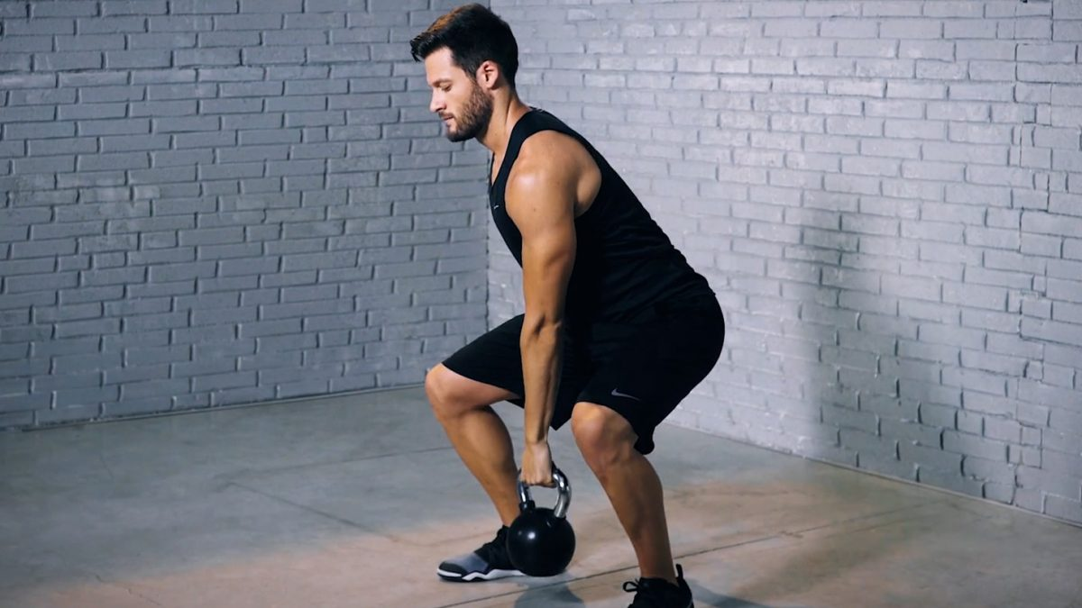 Tutorial: Kettlebell clean und press