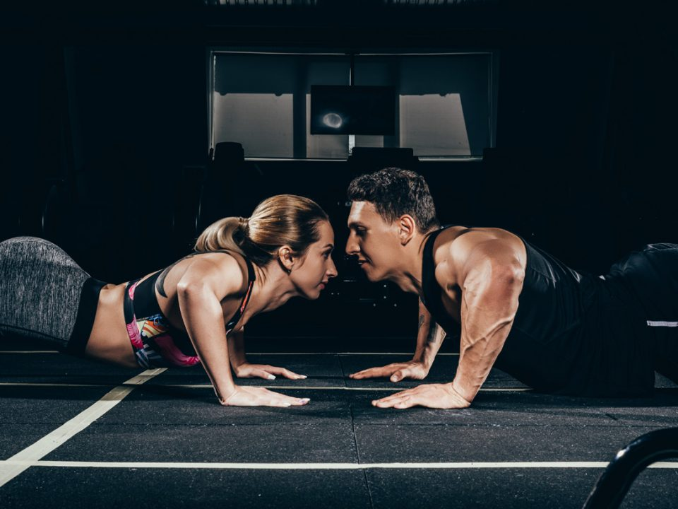 Let love EVOlve: Valentine's workout for couples