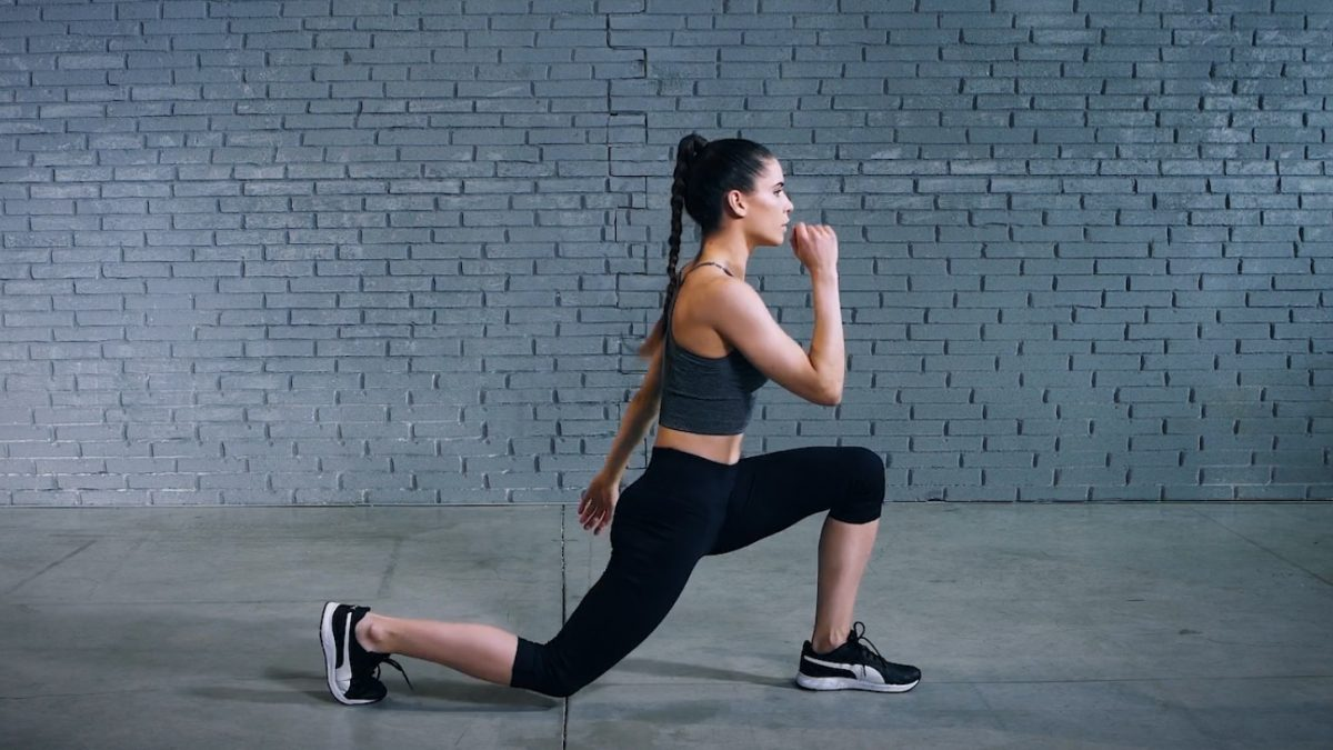 Tutorial: Jumping lunge