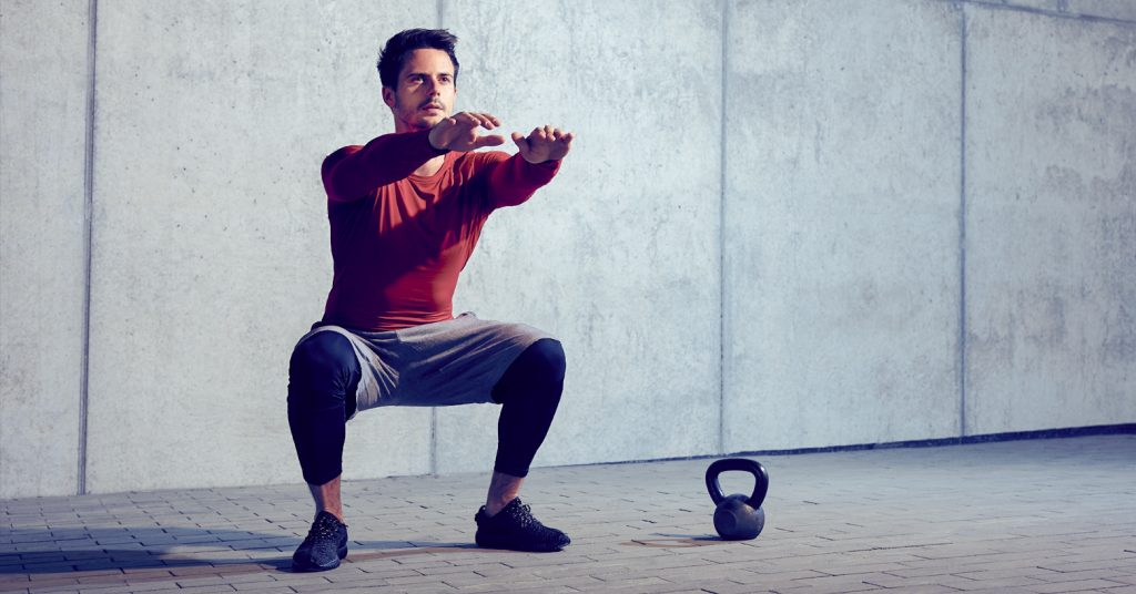 bodyweight balance workout