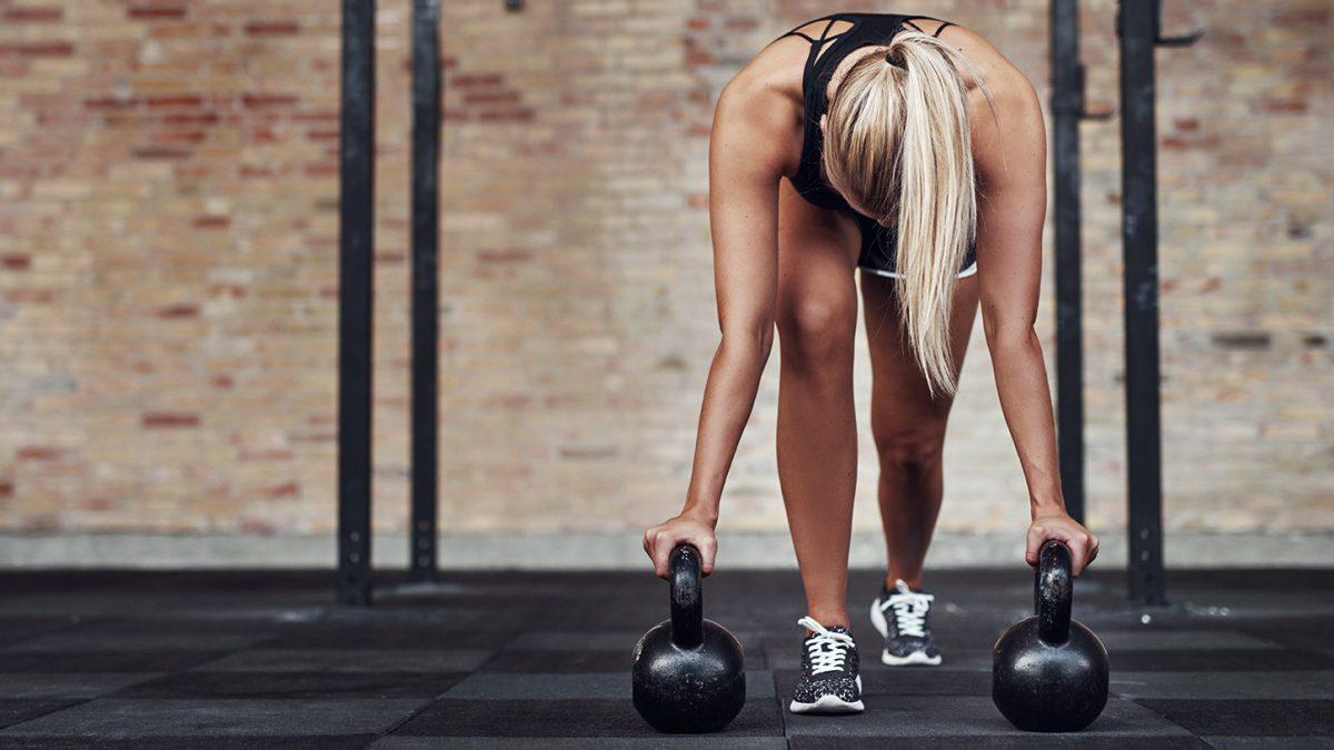 Kettlebell für Anfänger - Kettlebell for beginners - EVO Fitness