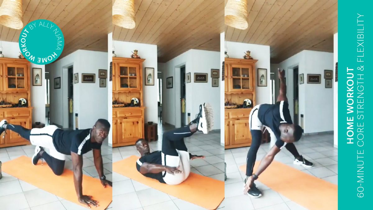 Beweglichkeits-Workout - 60-min core strength and flexibility training