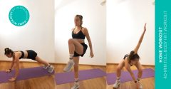 Home workout of the week: 40-min full-body HIIT workout