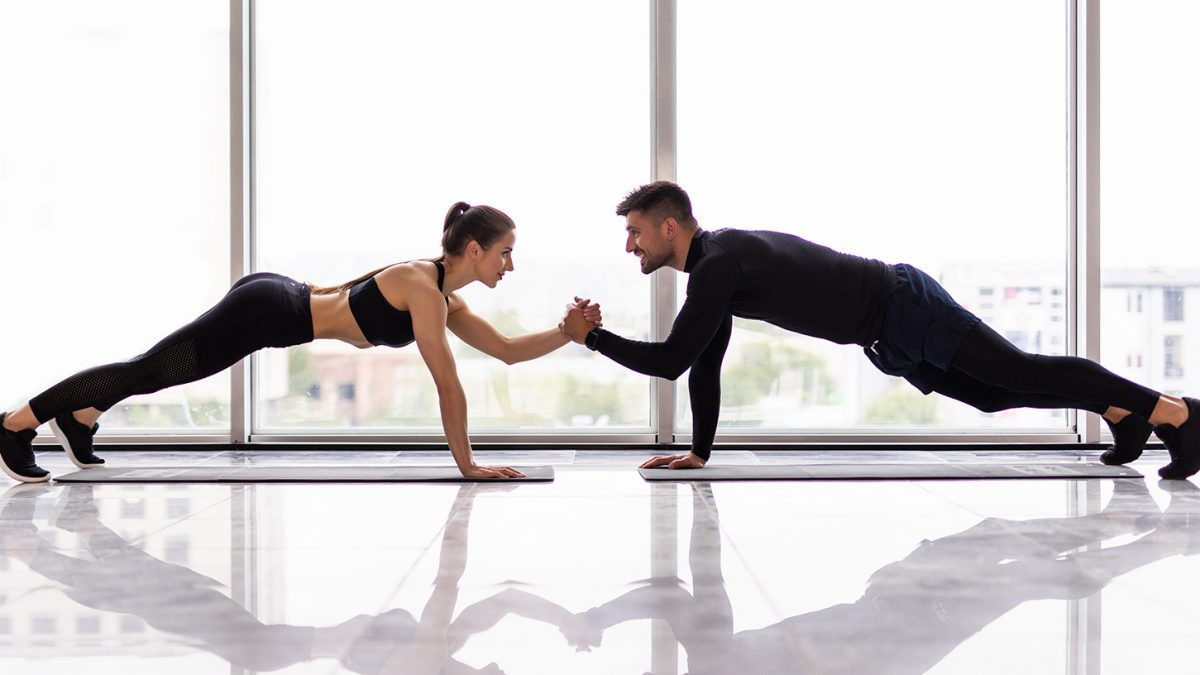 Partner Workout - couples workout - EVO Fitness