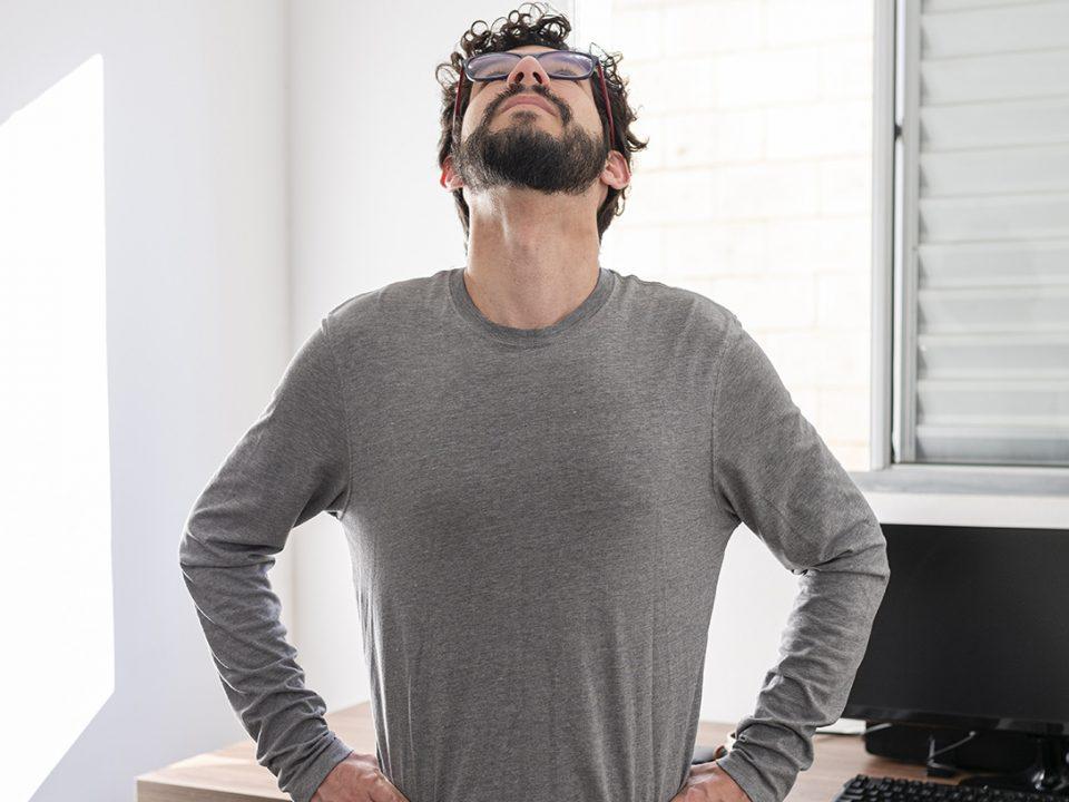 Rückenschmerzen - back pain - EVO Fitness