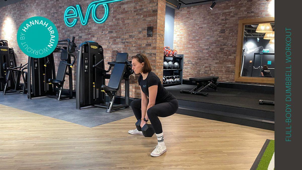Ganzkörper Dumbbell Workout | Full-body dumbbell workout