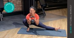 Workout of the week: 35-min kettlebell workout for strength and power