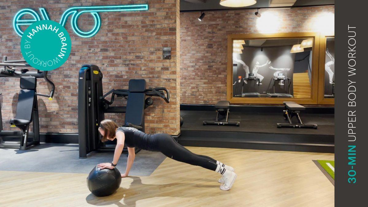 Oberkörper Workout - upper body workout - EVO Fitness