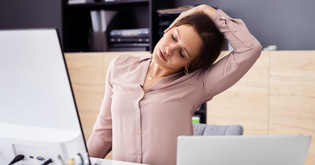 Nackenschmerzen - neck pain - EVO Fitness