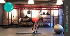 Workout der Woche: 20 Min. Stability Workout