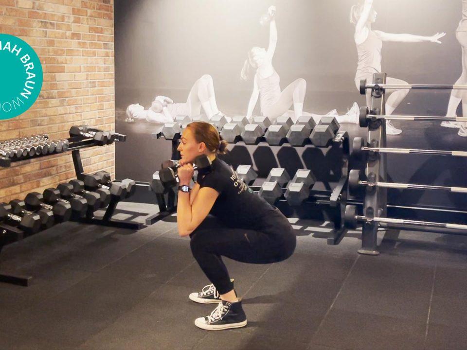 Unterkörper workout - lower body workout - EVO Fitness