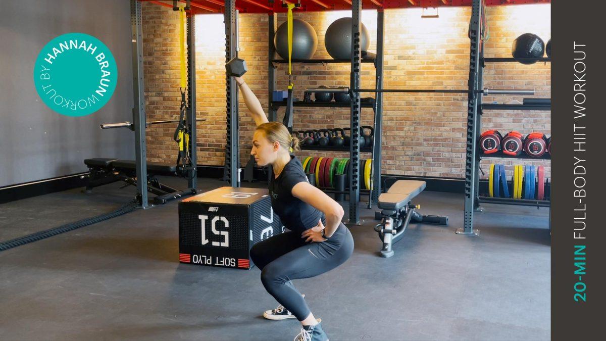 Ganzkörper HIIT Workout | Full-body HIIT workout