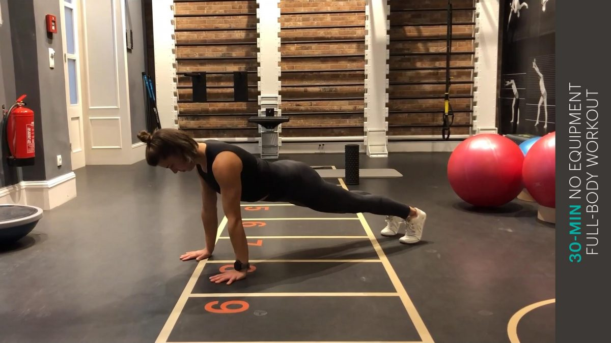 Full-body Workout ohne Equipment   no equipment full-body workout