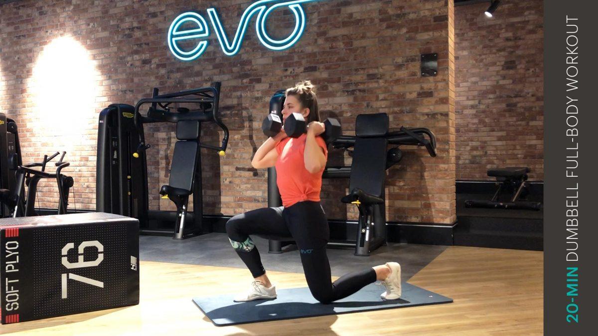 Ganzkoerper dumbbell workout | full-body dumbbell workout
