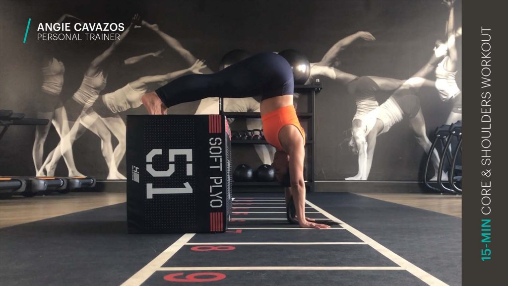 core and shoulders workout