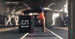 Workout der Woche: 15 Min. Rumpf und Schulter Workout