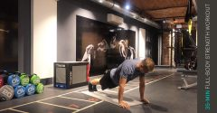 Workout der Woche: 35 Min. Full-body Kraft-Workout