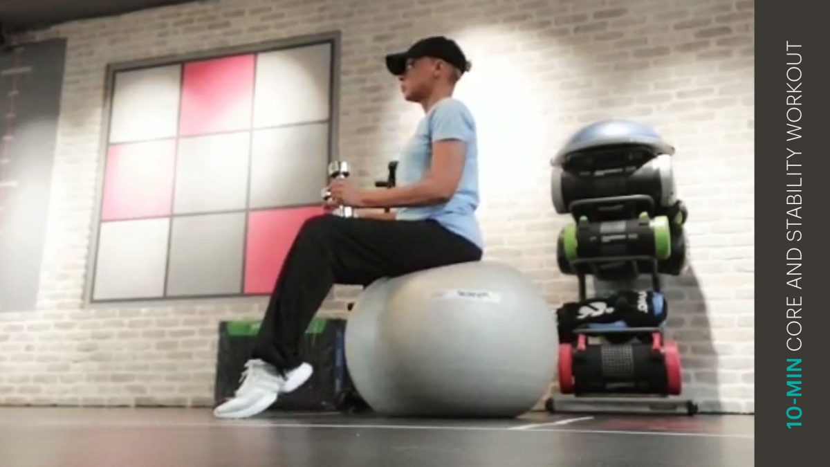 Rumpf und Stabilität Workout   core and stability workout